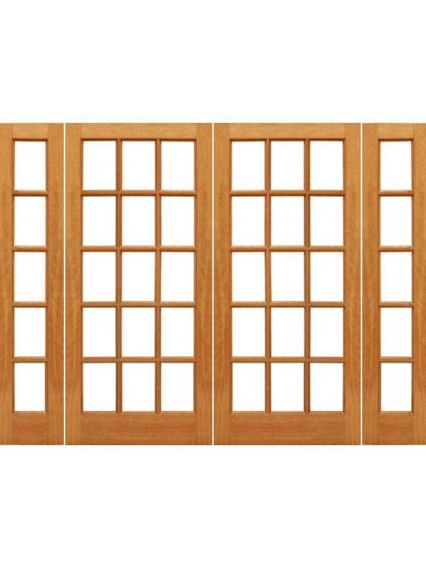 15 Lite Interior French Door With 5 Lite Sidelights Doors Interior French Doors Interior Interior
