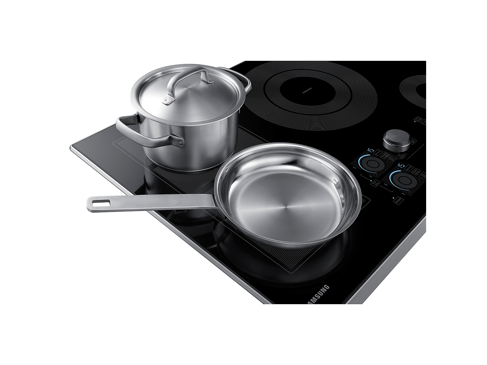 Samsung 30 Induction Cooktop In Black In 2020 Black Stainless Steel Samsung Stainless Steel