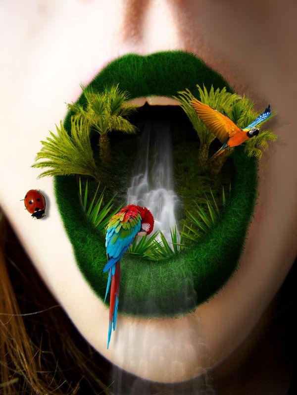 It's a jungle in there et oui la nature reprend ces droits Warter de http://www.home-template.com/templates-wordpress/