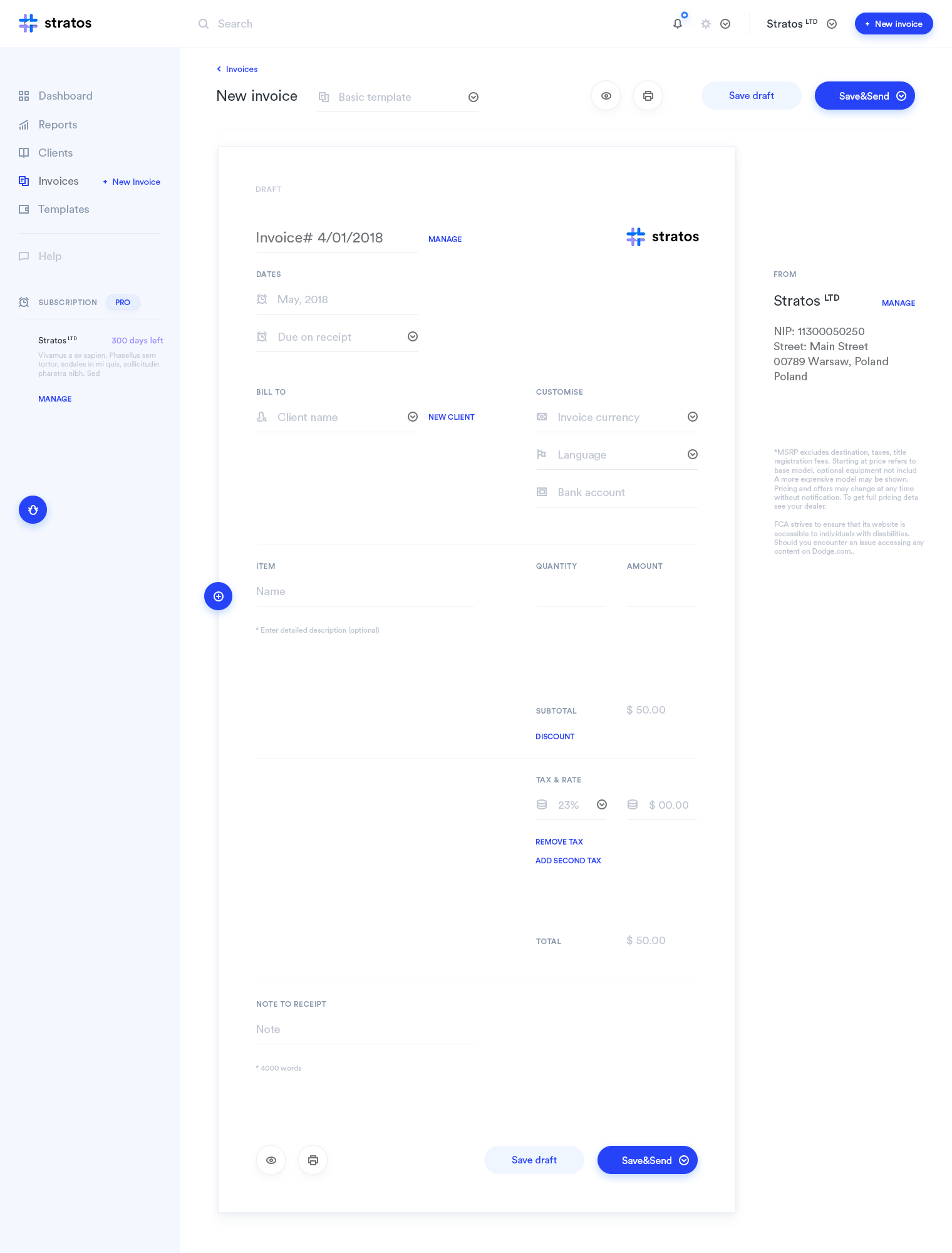 Copy Of Invoices Invoice Reevolutionprevious Version Httpsdribbbleshots .