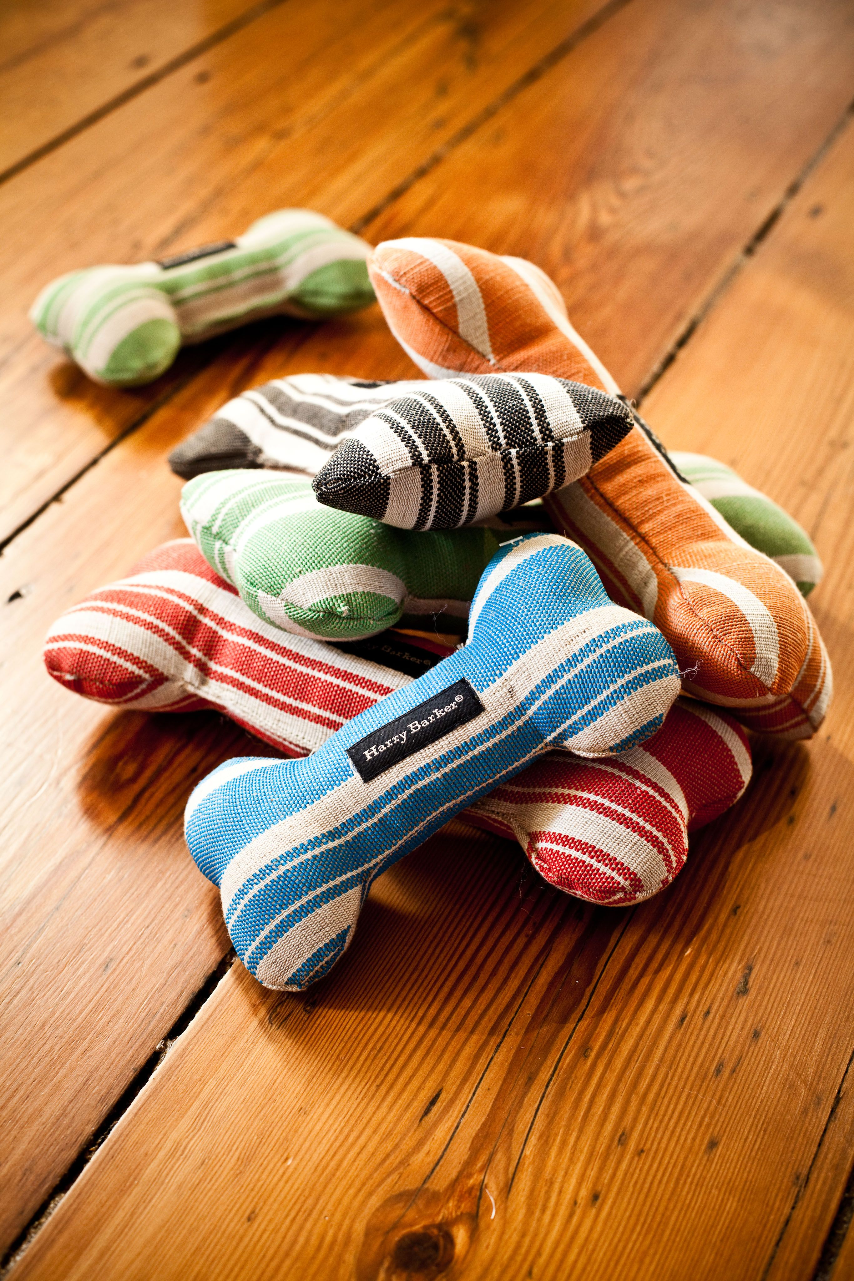 Hemp Stripe Bone Toys By Harry Barker Harry Barker Winston S