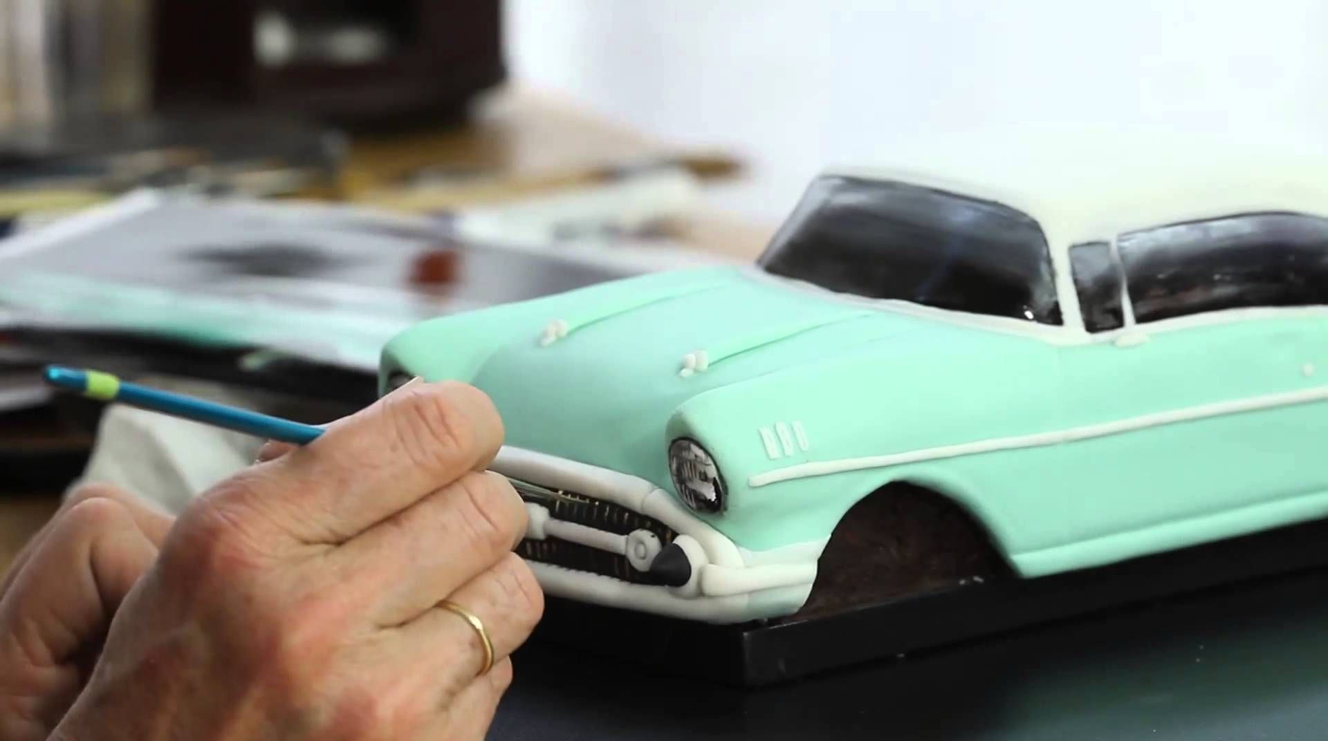 How to make a Realistic Chevy Car Cake