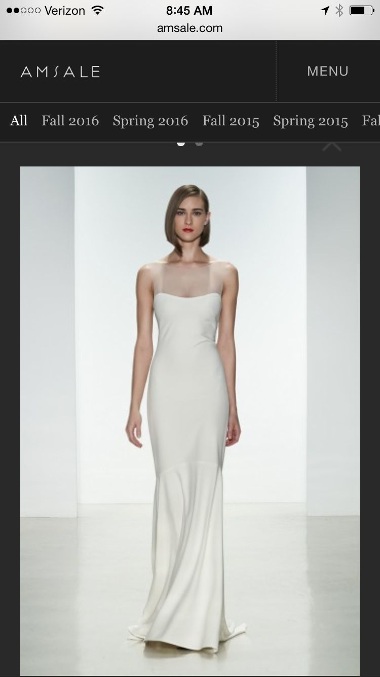 Sleek simple perfect wedding dresses pinterest wedding dress