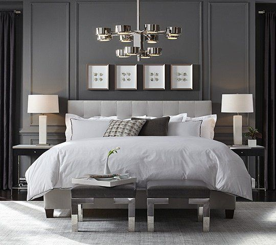 Simplistic Grey Master Bedroom: Introducing The New Modern Home