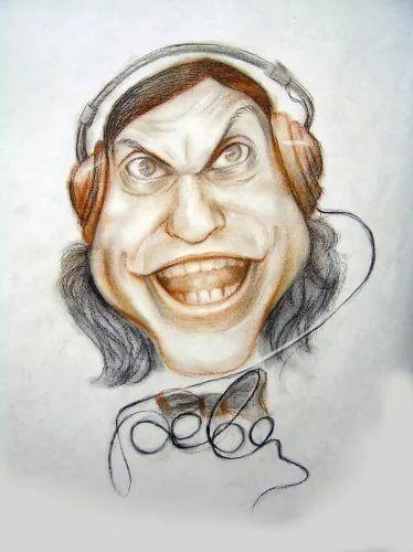 артисты карикатура шаржи: 14 тыс изображений найдено в ...