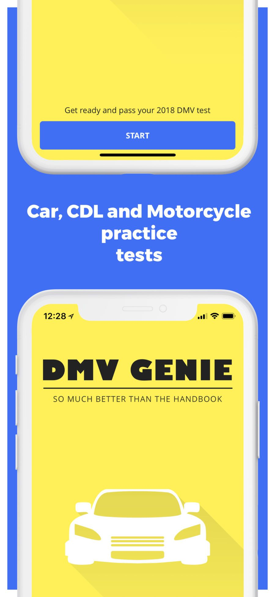 DMV Genie Permit Practice Test #eLearning#Elegant#Education#ios
