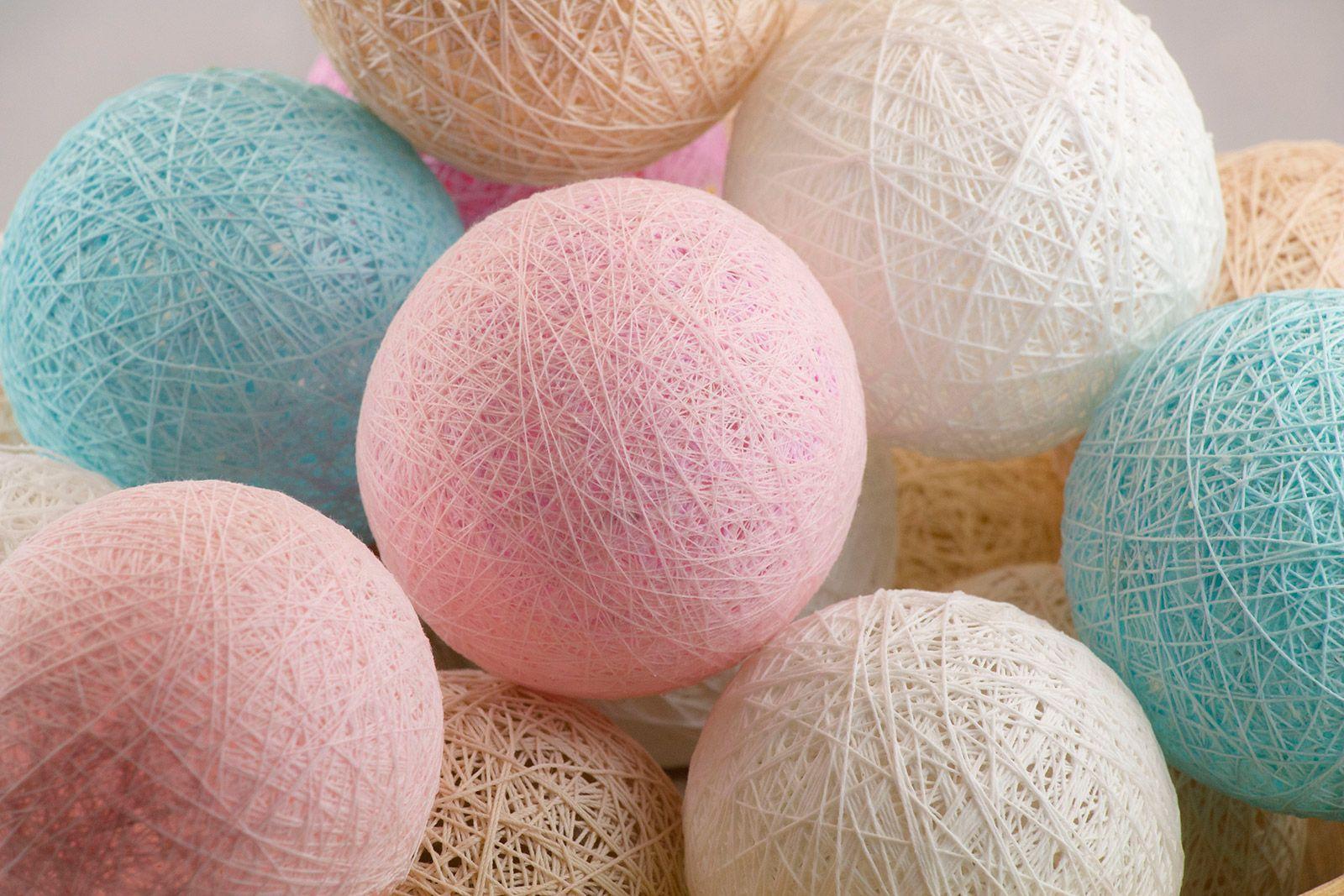 Diy jak samodzielnie zrobi cotton balls moje w asne cotton balls light pinterest - Cotton ballspractical ideas ...