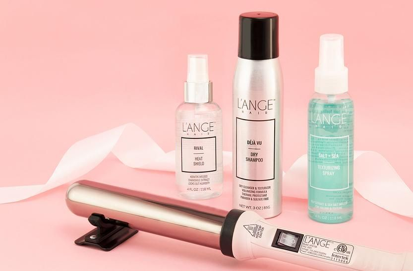 The L Ange Special Sale Event L Ange Hair Curling Wand Set Ange Thermal Protection Spray