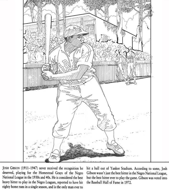 black history month coloring pages black history coloring pages josh gibson and satchel paige