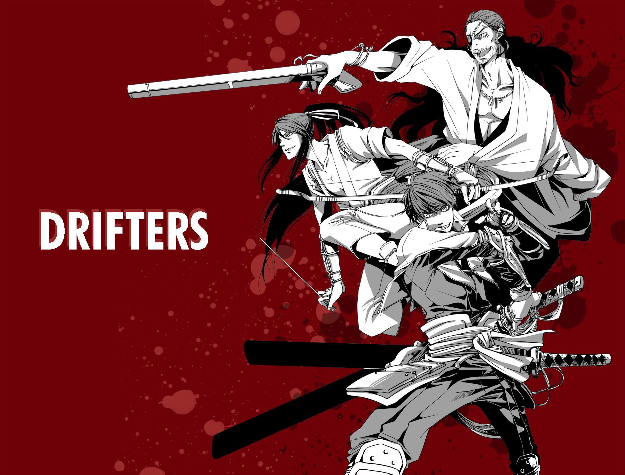 Our Leads In Drifters Manga Oda Nobunaga Nasu No Yoichi