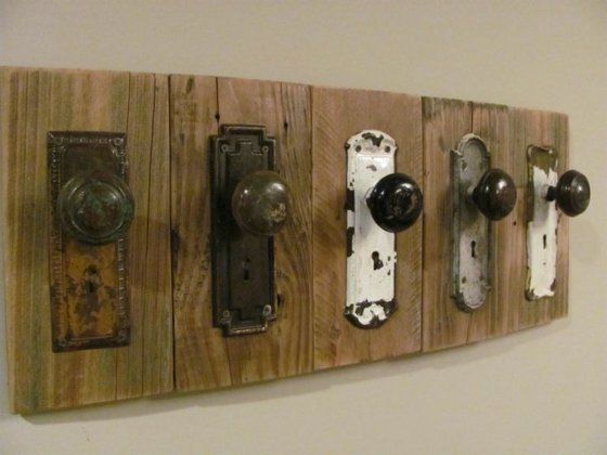 Incroyable Porte Manteau Mural DIY En 18 Exemples Vintage Idees De Conception