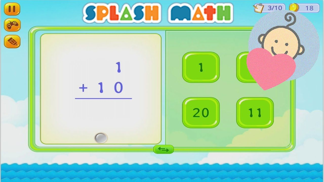 ❤ Splash Math K5 ❤ Learning math for kids - Games for children to ...