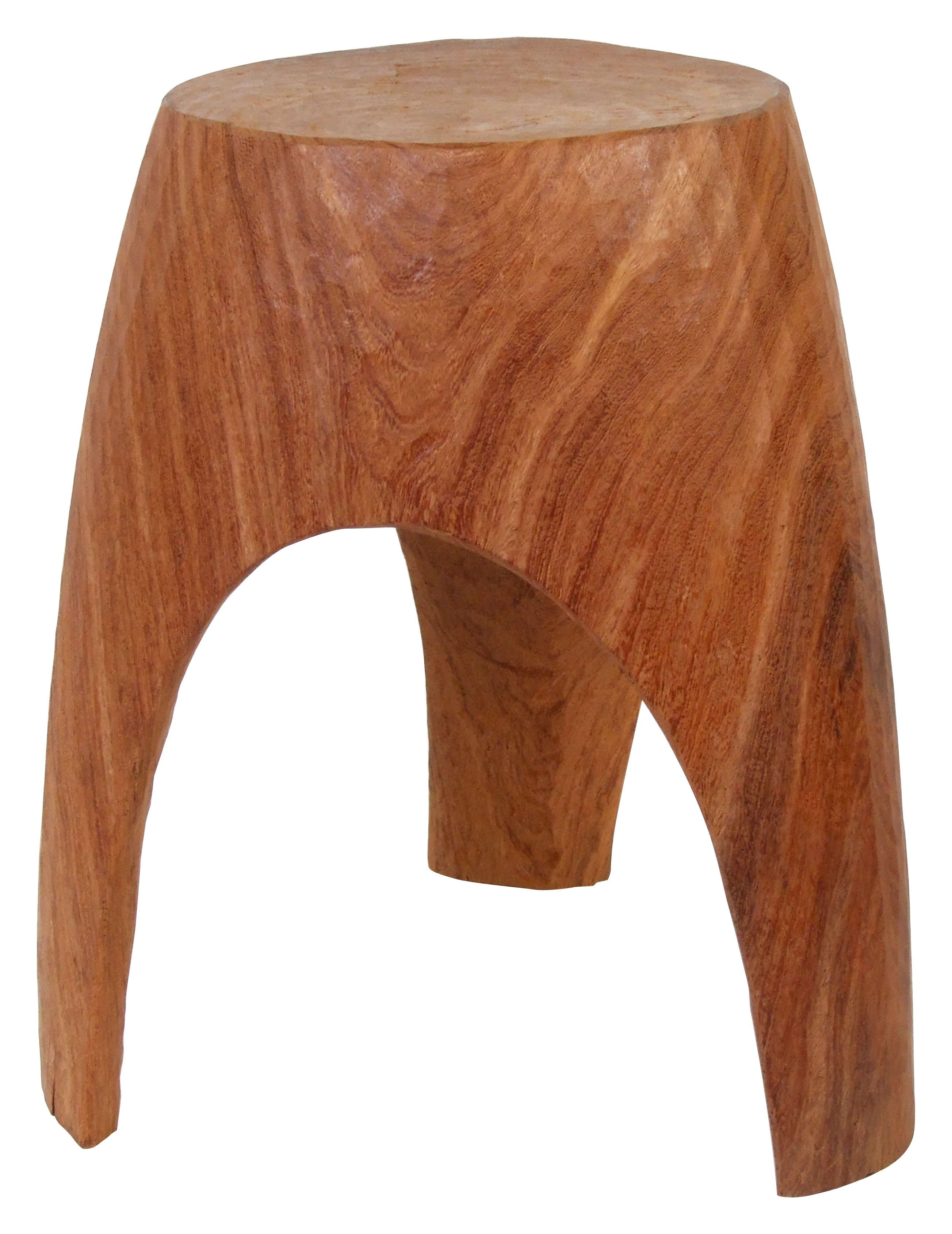 Tabouret 3 Legs Bois