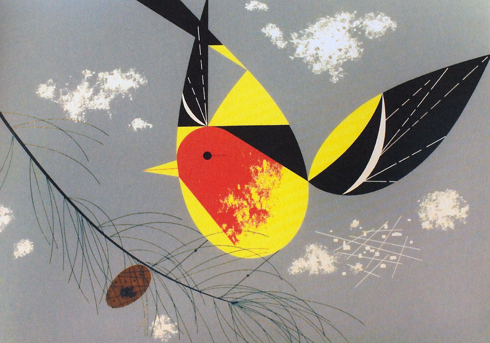 Charley Harper   graphics8   Pinterest   Dibujos de animales ...