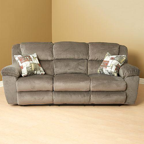 Catnapper Transformer Triple Reclining Sofa Pewter