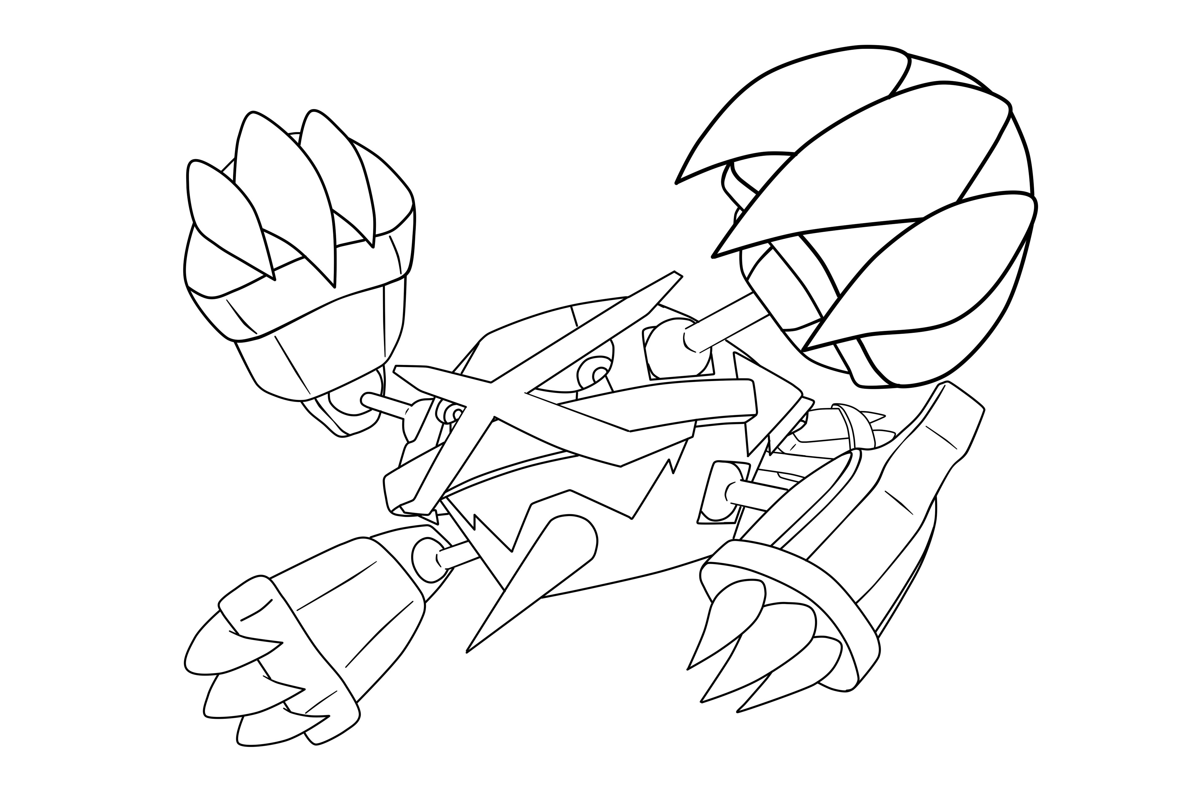 Metagross Coloring Pages Free Pokemon Coloring Pages Pokemon Coloring Coloring Pages