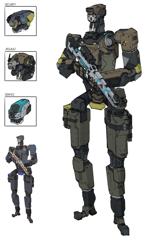 Oh Hey Cool Robots Robot Concept Art Cool Robots