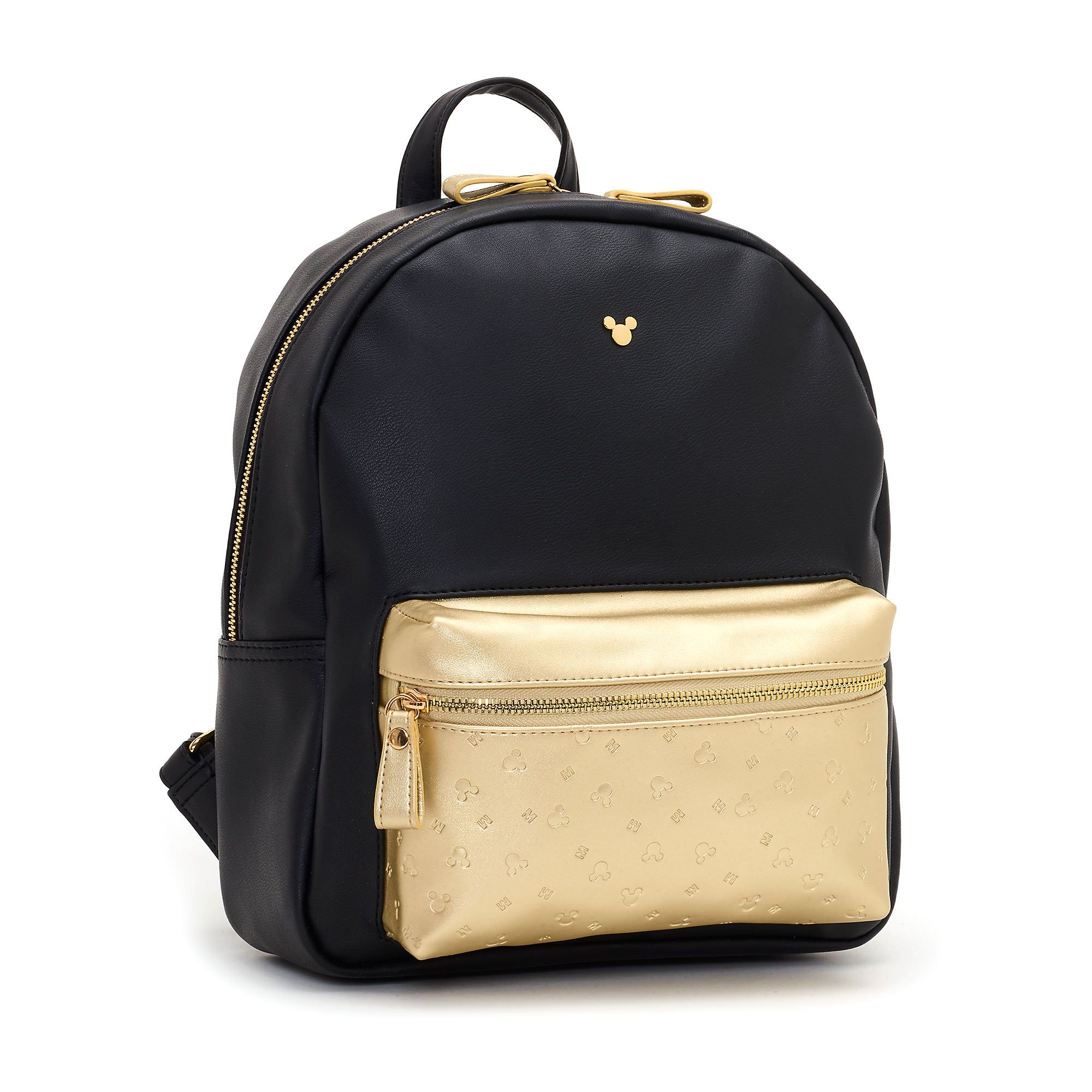 4263b4eeb Disney Store Mickey Mouse Black and Gold Backpack | Accessories ...