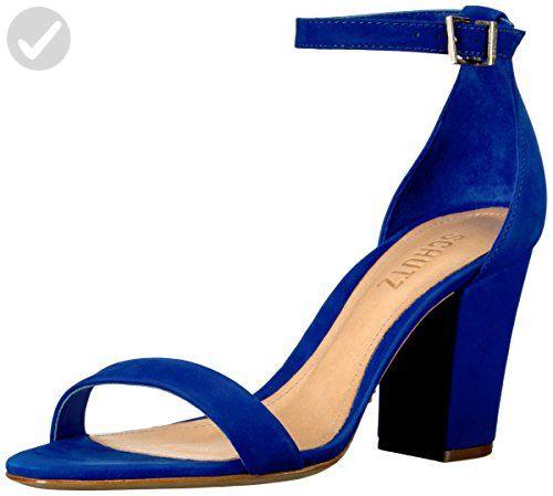 Schutz Women's Jenny Lee Dress Sandal, Royal, 6 M US - All about women (*Amazon Partner-Link)