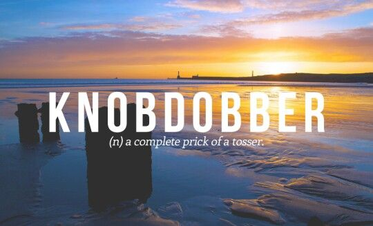 Boaby scottish slang