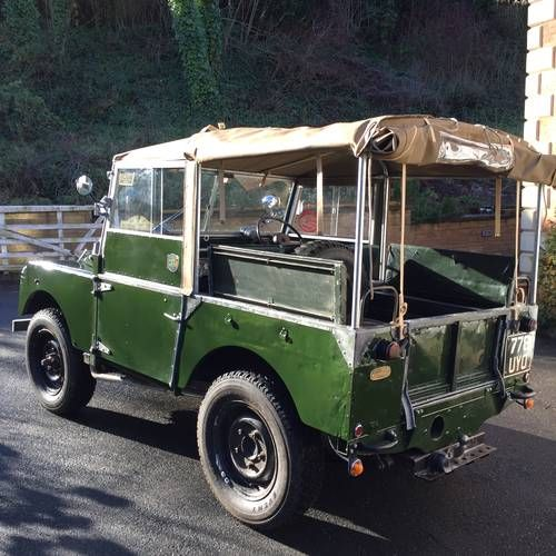 Land Rover Series 1 80 Inch 1953 For Sale