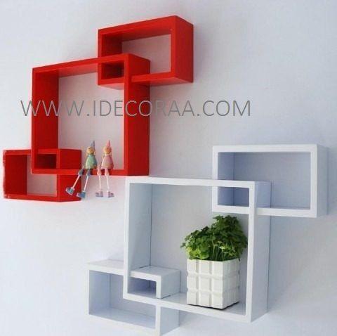Modernas repisas minimalistas muebles idecoraa lista de - Repisas de pared modernas ...