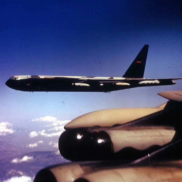 Boeing B 52 Stratofortress Of The U S Air Force History: A Pair Of Boeing B-52D Stratofortress's Of The US Air