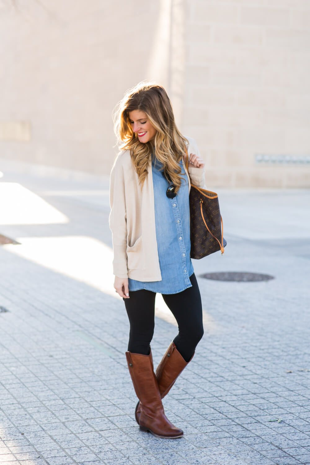 Images of Long Sweaters To Wear With Leggings And Boots - Best ...