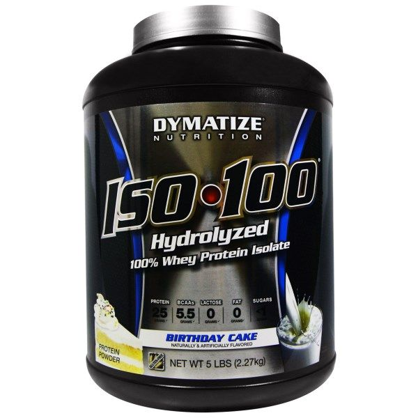 Sports Fitness Athletic Dymatize Nutrition Iso 100 Hydrolyzed 100