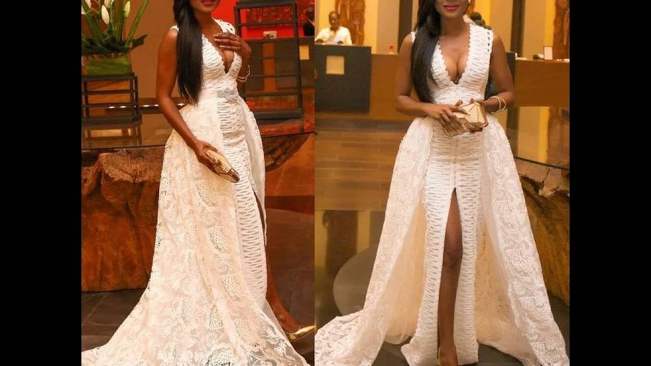 LATEST WEDDING DRESSES, ANKARA GOWNS, EVEING GOWNS, DINNER