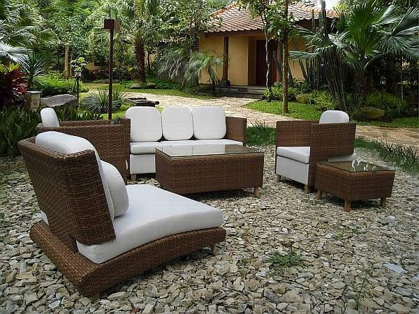 Outdoor Design Choosing Elegant Patio Furniture Outdoor Wicker