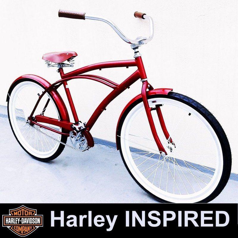 Com muito estilo a Bicicleta Kustom Bike - Estilo Retrô - Aro 26'' apresenta um modelo clássico, com design retrô. É composta por materiais de qualidade que garantem todo o conforto necessário, conta com quadro feito em aço de carbono, freios contra-pedal e pedais com refletores. Esbanje elegância nos passeios, design único e diferenciado, agrega aos seus passeios muito mais sofisticação e originalidade. No estilo europeu vintage pode ser usada por ambos os sexos, bicicleta super leve...