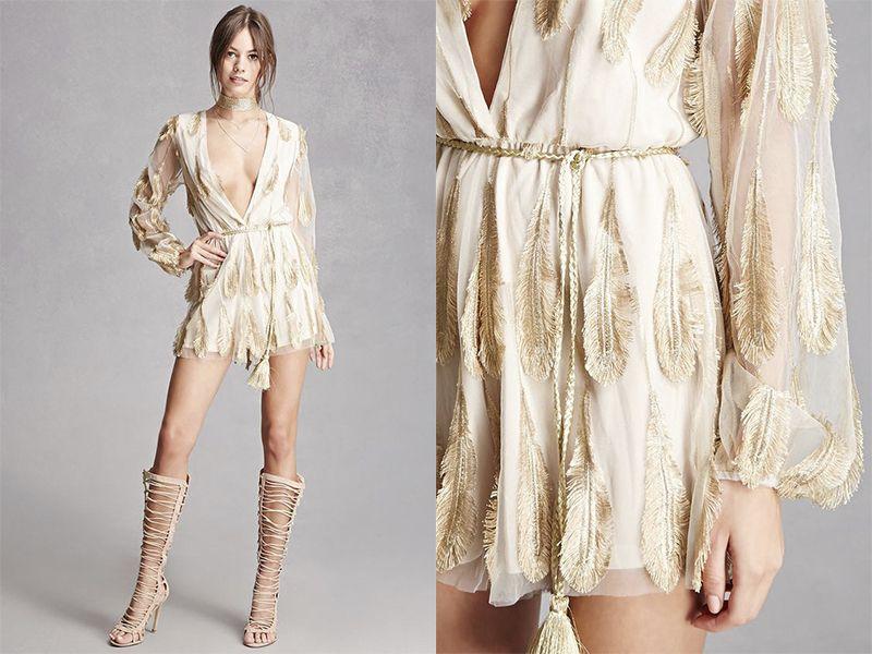 Mini vestidos hippie chic