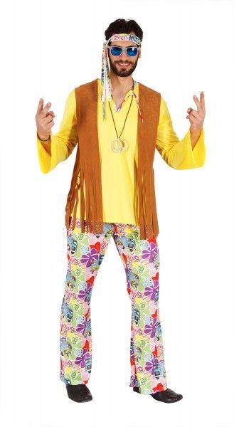 Kostum Hippie Herren 70er Jahre Kostum Fur Manner 70er Jahre Kostum 70er Kostum Hippie Kostum