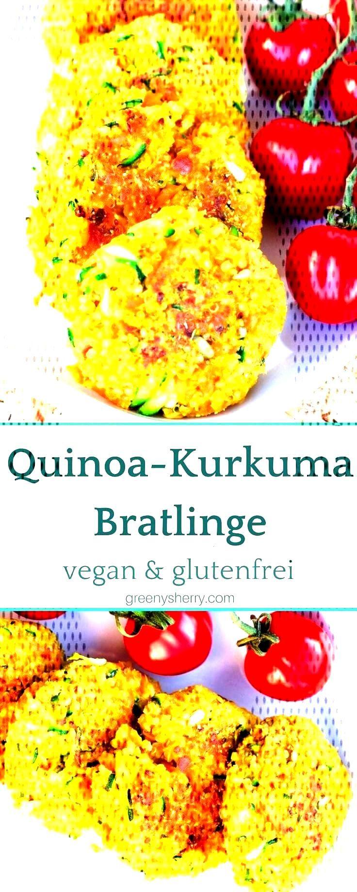 Crunchy Quinoa - Kurkumapastetchen (vegan amp glutenfrei)  - Rezepte -You can find Quinoa and more o