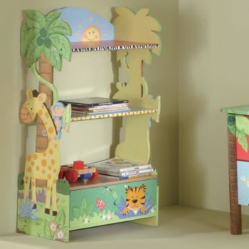 LOVE GIRAFFS 114 ON SALE AT KOHLS Teamson Kids Sunny Safari Bookshelf