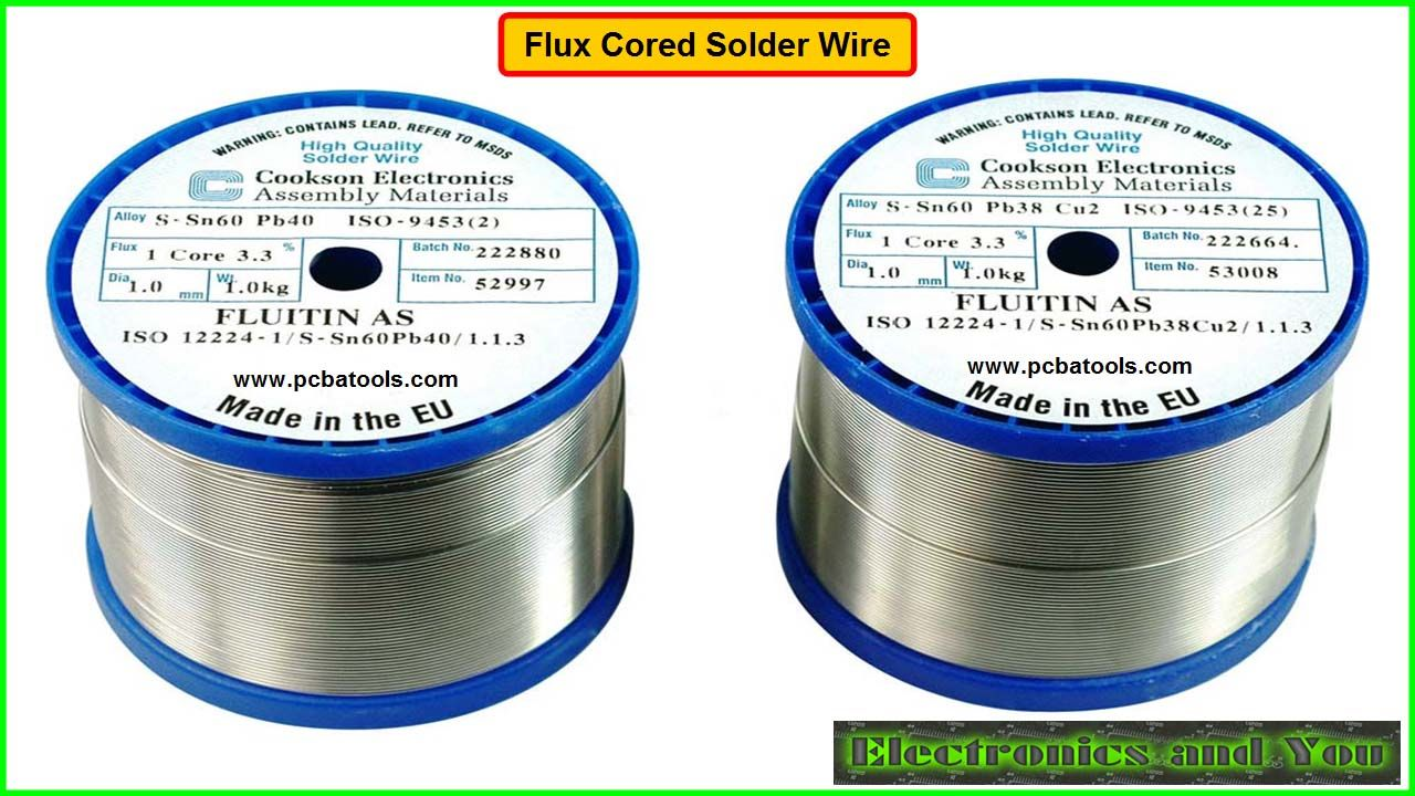 how to solder wires with flux