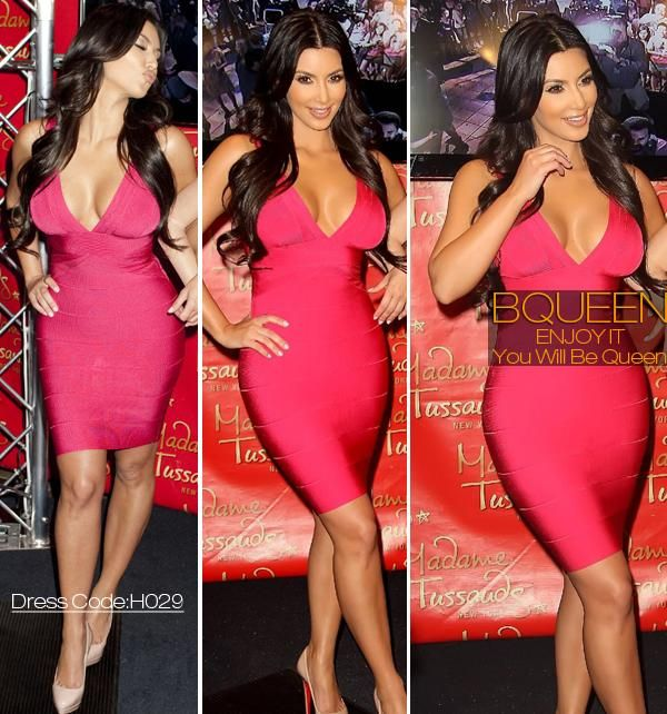 10  images about pink herve leger bandage dress on Pinterest - Kim ...