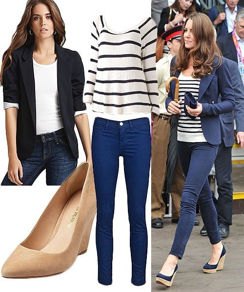 Kate inspired casual look