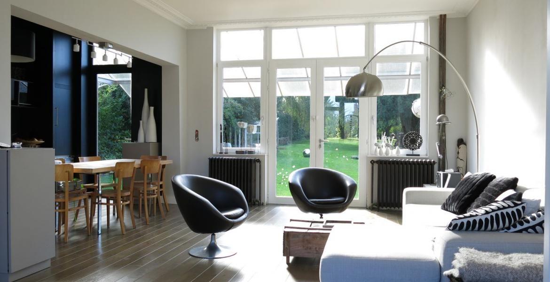 Maison 1930 Comment Amenager Un Salon En Longueur Maison Idee Chambre Salon