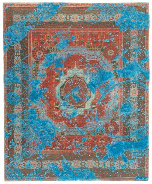 Modern Persian Tabriz Design Rug 44687 Nazmiyal Antique Rugs: Jan Kath Collection Via Cadrys.com.au