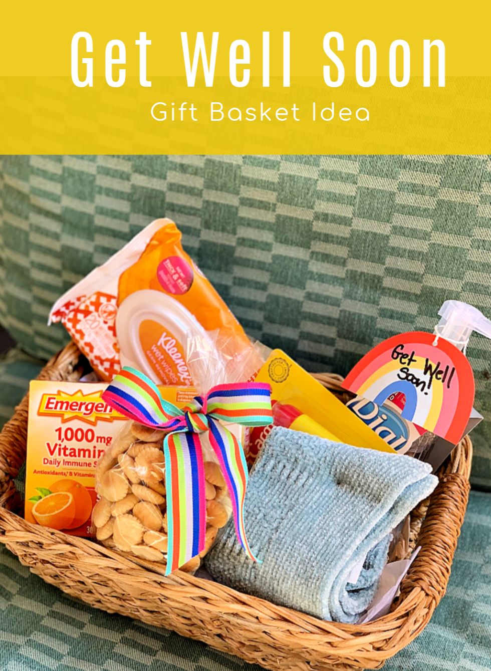 Ad I D Love To Be The Type Of Person Who Can Whip Up A Batch Of Homemade Chicken Noodle Soup And Fresh Baked C Gift Baskets Wellness Gifts Get Well Soon