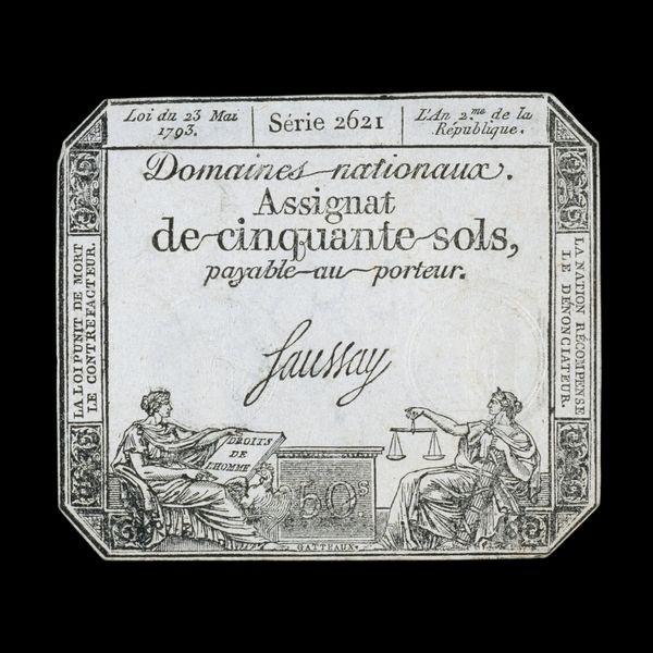 FRENCH REVOLUTION MONEY 1793