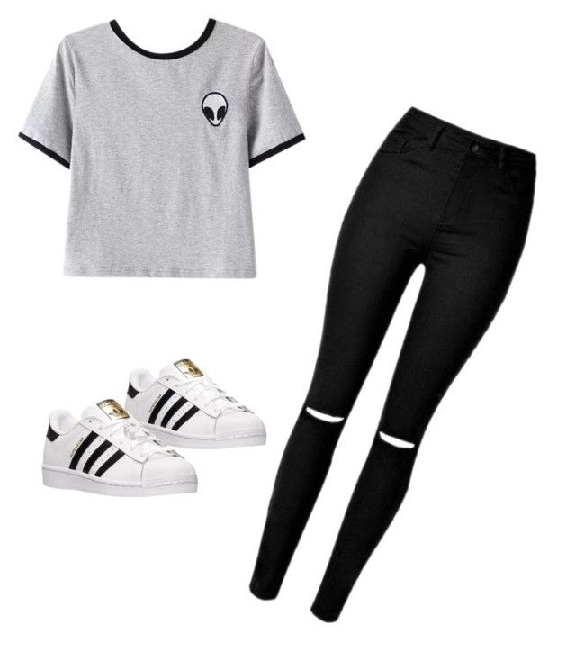"""Untitled #91"" by julia3smith on Polyvore featuring Chicnova Fashion and adidas"
