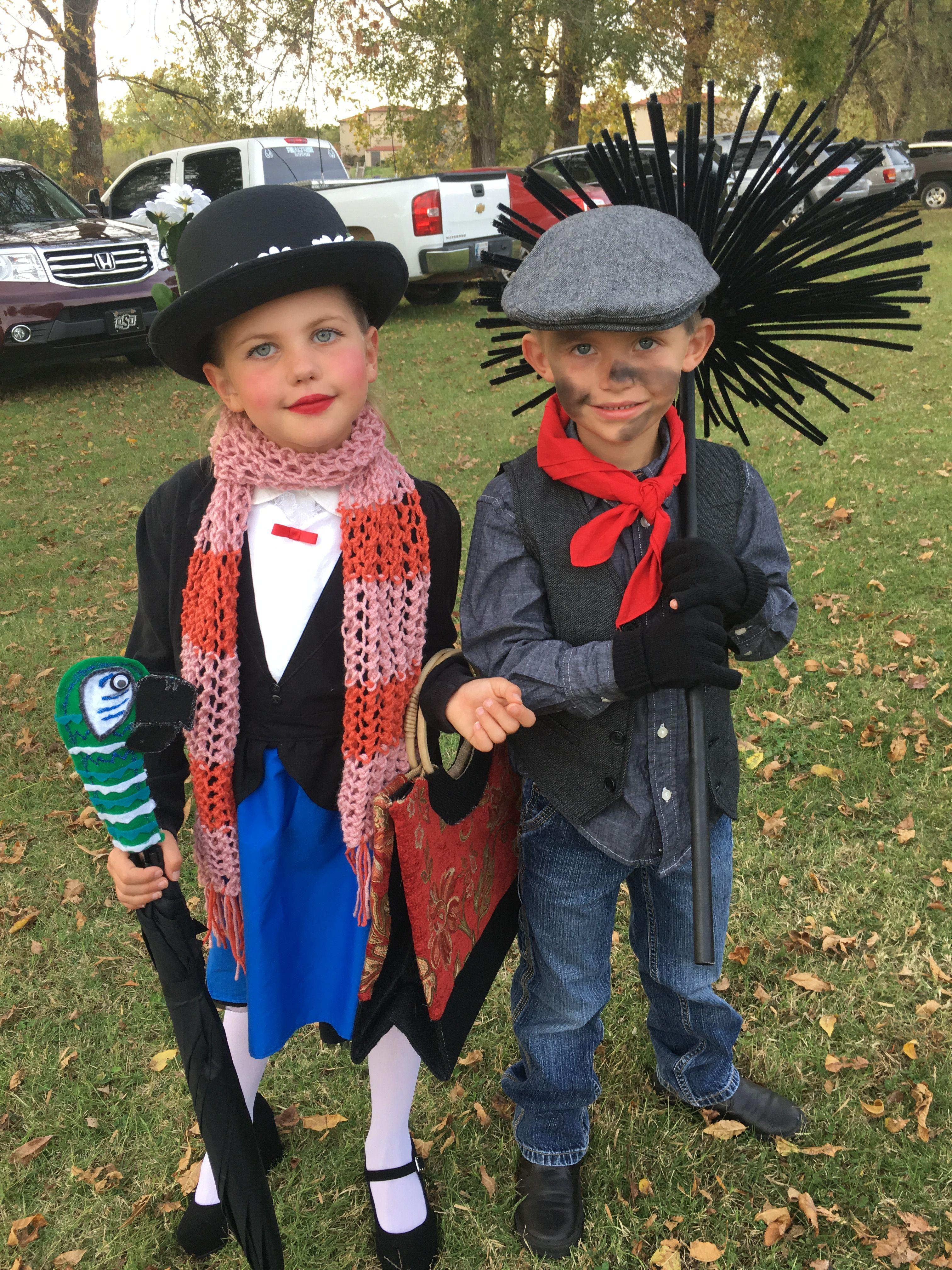 best cutest kids halloween costume diy mary poppins bert the chimney sweep 1st place winners