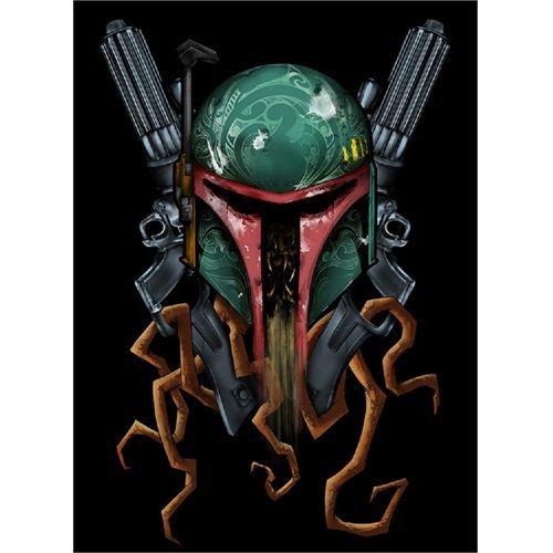 Boba Deth by Eric Pineda Star Wars Fett Clone Sci Fi Canvas...