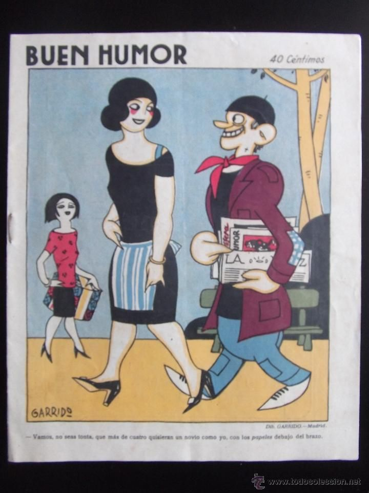 revista, semanario satirico buen humor n.129 mayo de 1924 24 paginas, garrido areucer...