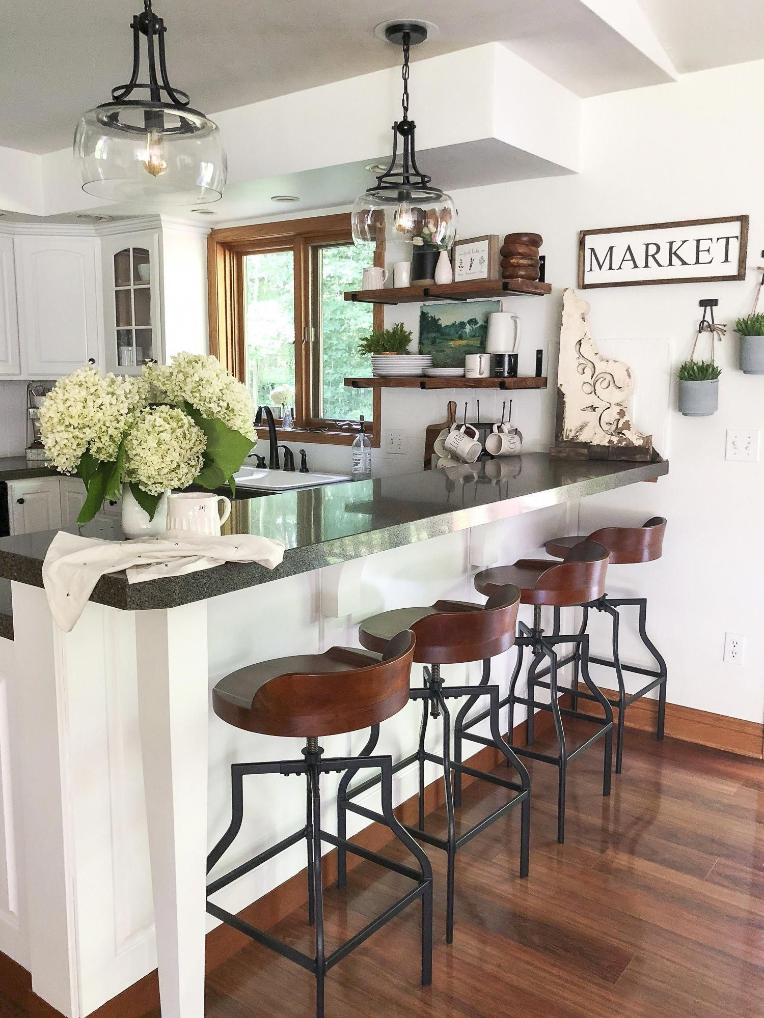 kitchen lighting ideas over table layout