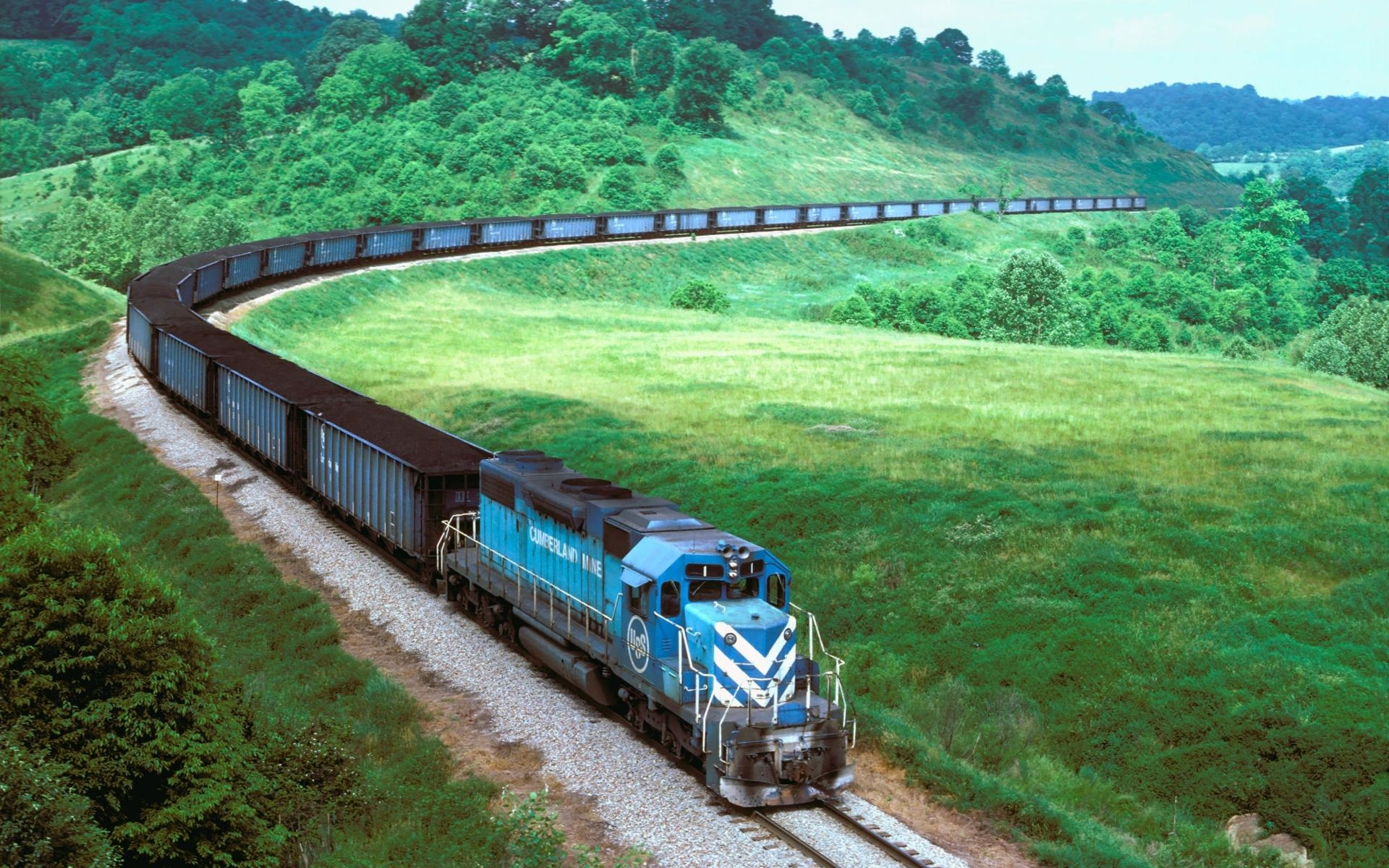 Really Long Train 1920x1200 Train Wallpaper Train Tour Train