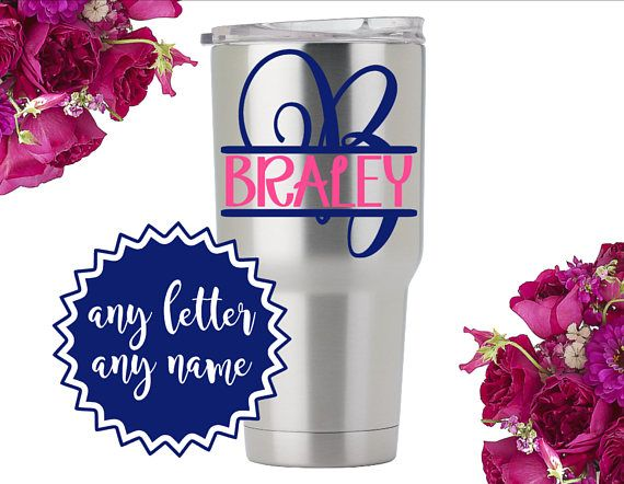 Personalized Tumbler Stickers Vinyl Decal For Tumbler Vinyl - Vinyl stickers for cups